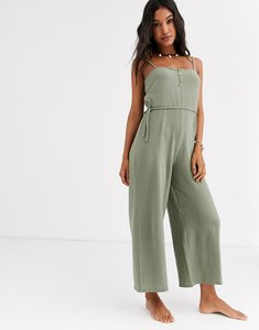 Read more about Rip curl noa beach jumpsuit in green
