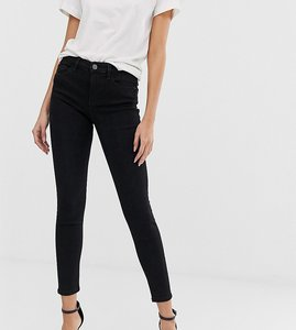 Read more about Stradivarius skinny low waist jean in black