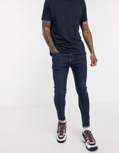 Read more about Tommy jeans asos exclusive super skinny fit jeans in dark wash-blue