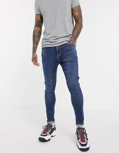 Read more about Tommy jeans asos exclusive super skinny fit jeans in mid wash-blue
