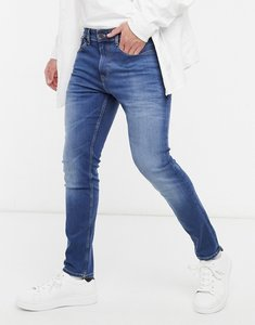 Read more about Tommy jeans austin slim tapered jeans in mid wash-blue