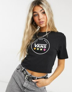 Read more about Vans black heart t-shirt in black