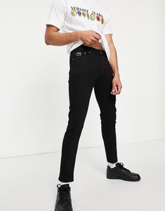 Read more about Versace jeans couture jeans with pocket branding in black