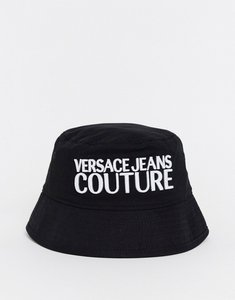 Read more about Versace jeans couture logo bucket hat in black