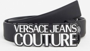 Read more about Versace jeans couture logo buckle belt-black