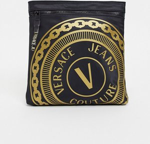 Read more about Versace jeans couture logo side bag in black