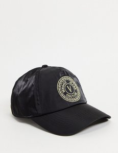 Read more about Versace jeans couture round logo cap in black