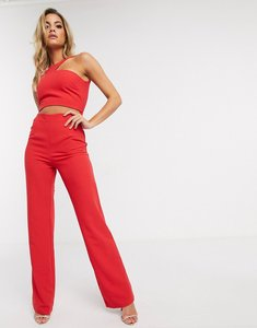Read more about Vesper cut out jumpsuit in red