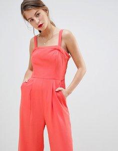Read more about Vila wide leg cami jumpsuit-orange