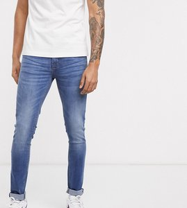 Read more about Voi jeans tall skinny jeans in mid washed blue
