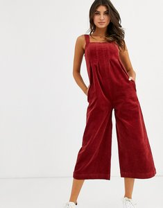 Read more about Volcom oh my cord jumpsuit in rust-red