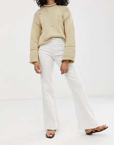 Read more about Waven fenn flared jeans-white
