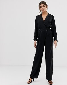 Read more about Y a s jumpsuit with button waist-black