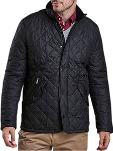 Read more about Barbour chelsea sportsquilt water-resistant quilted jacket black