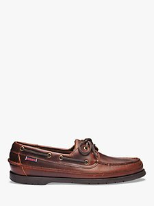 Read more about Sebago schooner leather boat shoes brown