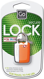 Read more about Go travel glo travel sentry padlock assorted colours