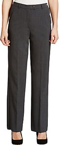 Read more about Gardeur city straight leg high rise trousers grey