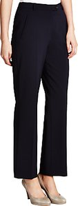 Read more about Gardeur city straight leg high rise trousers navy