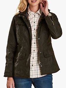 Read more about Barbour utility waxed jacket olive