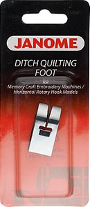 Read more about Janome ditch quilting foot