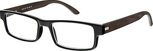 Read more about Magnif eyes unisex ready readers oakland glasses ebony