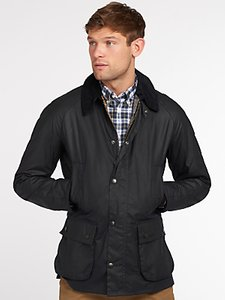Read more about Barbour lifestyle ashby waxed field jacket navy