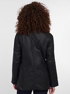 Read more about Barbour tartan beadnell waxed jacket navy