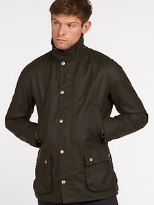 Read more about Barbour lifestyle ashby waxed cotton field jacket olive