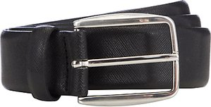 Read more about John lewis textured leather belt black