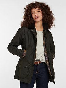 Read more about Barbour classic beadnell waxed jacket olive
