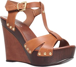 Read more about Carvela katey leather sandals tan