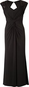 Read more about Chesca sabrina knitted sequin maxi dress black