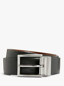 Read more about John lewis made in italy reversible belt black brown