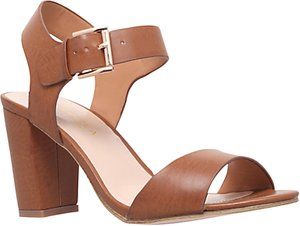 Read more about Carvela sadie block heel sandals tan