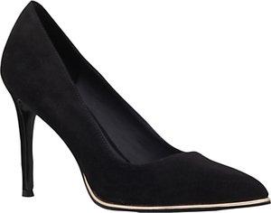 Read more about Kg by kurt geiger beauty toe point stiletto court shoes black velvet