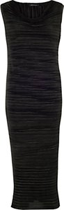 Read more about Chesca sleeveless crush pleat dress black