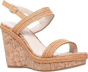 Read more about Carvela kay high wedge heel sandals tan
