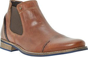 Read more about Dune chili toecap chelsea boot tan
