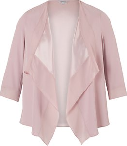 Read more about Chesca satin back crepe waterfall jacket powder pink
