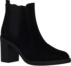 Read more about Kg by kurt geiger sicily high heel ankle boots black suede