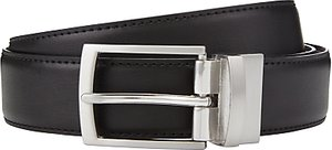 Read more about John lewis reversible leather belt black brown