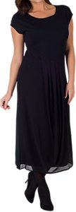 Read more about Chesca pleat jersey chiffon dress black