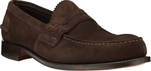 Read more about Church s pembrey castoro suede loafers brown