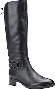 Read more about Geox felicity a block heeled knee high boots black leather