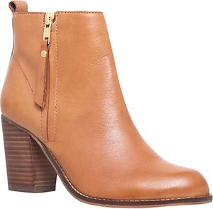 Read more about Carvela tanga block heeled ankle boots tan