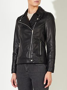 Read more about John lewis betsy leather biker jacket
