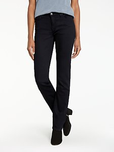 Read more about Lee marion regular straight leg jeans black rinse