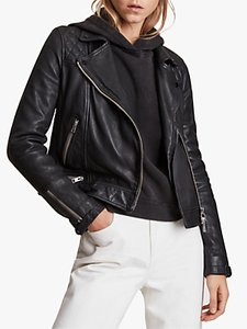 Read more about Allsaints conroy leather biker jacket