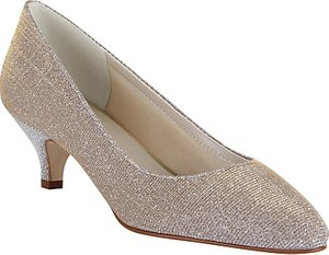 Read more about Rainbow club winnie sparkly court shoes metallic