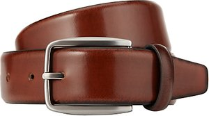 Read more about John lewis made in italy burnished leather belt tan